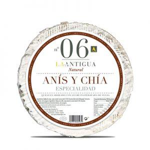 Queso La Antigua 36 con Anís y Chía kg
