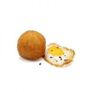 Croquetas Huevo frito con trufa