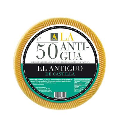Queso La Antigua Mezcla 50 El Antiguo de Castilla